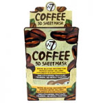 W7 Coffee 3D Sheet Mask (24pcs) (FACEMCO3D) (8994) A36 (£0.57/each)