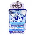 W7 Hydrate 3D Sheet Mask (24pcs) (FACEMH3D) (8932) A35 (£0.57/each)