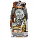 W7 Metallic Easy-Peel Vitamin Coconut Face Mask (24pcs) (FACEMEPC) (8727) (£0.57/each) W7/Mask-18
