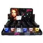 Saffron Shimmer Powder (24pcs) (Tray B) (1305)  (SAFFRON 114) (£0.68/each)