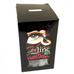 L. A. Girl Gel Liner Kit (3pcs) (GEL723 Dark Brown) (£1.25/each) (R480)