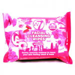 W7 Facial Cleansing Wipes (6 Sets) (FCW) (£0.71/each) (7683) D/72A