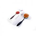 London Pride Pro Oval Powder Brush (Black Handle) (0116) Lilyz/75