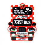 W7 Love Bus Makeup Collection (8567) D10