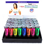 PaintGlow UV Neon Fabric Paint (12pcs) (Assorted) (£0.50/each)