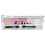 La Femme 5 Colour Eyeshadow (No.2) (6pcs) (£1.00/each)