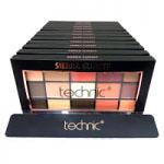 Technic 15 Eyeshadows Palette (12pcs) (28534) (Sierra Sunset) A7 (£1.67/each)