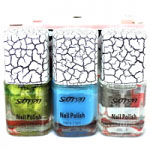 Saffron Cracking Nail Polish (12pcs) (Assorted) (£0.31/each) R617