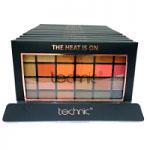 Technic 24 Eyeshadows Palette (12pcs) (28528) (The Heat Is On) A1 (£2.44/each)