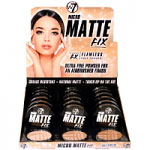 W7 Micro Matte Fix Face Powder (18pcs) (0959) (MMFFP) (£1.46/each) C66