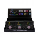 Lilyz Pressed Vegan Glitter (54pcs) (Assorted) (£0.75/each)