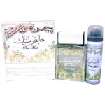 Pure Musk (Unisex Halal 100ml EDP + Deodorant) Lattafa (0546) (ARABIC/85)