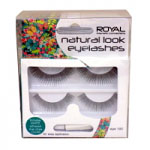 Royal Natural Look Eyelashes (6pcs) (ELYE003) (ROYAL 65) (£1.45/each)