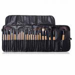 Lilyz Makeup Brush Set Black 24 Pcs-Natural Wood (3022) LILYZ/71