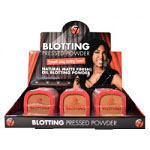 W7 Ebony Blotting Pressed Powder (12pcs) (5461) B/226 (£1.65/each)