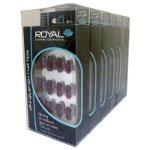 Royal 24 Diva Nail Tips with 3g Glue (6pcs) NNAI096 (ROYAL 59 (£1.05/each)