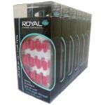 Royal 24 Vintage Rose Nail Tips with 3g Glue (6pcs) NNAI110 (ROYAL 58) (£1.05/each)