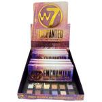 W7 Enchanted Pressed Pigment Palette (6pcs) 7491(£3.21/each) A/9
