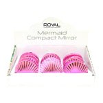 Royal Mermaid Compact Mirror (12pcs) -  (OACC179) (ROYAL 174a) (£1.05/each)