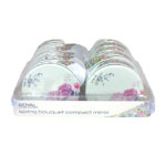 Royal Spring Bouquet Compact Mirror (12pcs) (OACC188) (ROYAL 141) (£1.23/each)