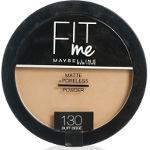 Maybelline Fit Me! Pressed Powder (12pcs) (130 Buff Beige) (£1.95/each) R/132A