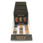 Technic Pressed Pigments Eyeshadow Palette - Tempting (29530) (10pcs) (£1.45/each) F/20