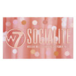 W7 Socialite Indulgent Shadow Palette (6pcs) (SOCIALITE) (1451) (£3.75/each)