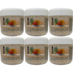 Bio Glow Apricot and Rosemary Face & Body Scrub (6pcs) 3244 (£0.75/each)