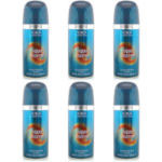 Addiction Aqua Storm Body Spray (Mens 150ml) 6pcs (9026) (£0.70/each)
