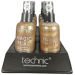 Technic Magic Mist Illuminating Setting Spray - 24K Gold (10pcs) 29711 (£1.23 / each) C113a