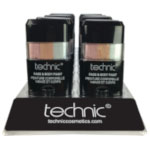 Technic Face & Body Paint Stick - Pastel (16pcs) (29708) (£1.22/each)  B/36