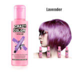 Crazy Color Semi Permanent Hair Color Cream 100ml - Lavender (4pcs) (£2.23/each) CC/20