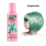 Crazy Color Semi Permanent Hair Color Cream 100ml - Peppermint (4pcs) (£2.23/each) CC21