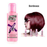 Crazy Color Semi Permanent Hair Color Cream 100ml - Bordeaux (4pcs) (£2.23/each) CC12