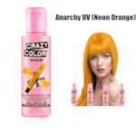 Crazy Color Semi Permanent Hair Color Cream 100ml - Anarchy UV (4pcs) (£2.23 / each) CC10