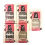 Saffron Pearls Nails (Assorted) (12pcs) (£0.60/each)