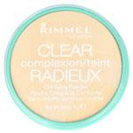 Rimmel Clear Complexion Clarifying Powder (12pcs) (021 Transparent) (£1.95/each) R214