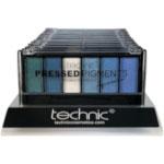 Technic Pressed Pigments Palette - Aquamarine (12pcs) (29532) (£0.73 / each) E/55