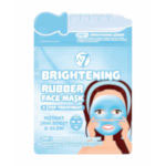 W7 Brightening 2 Step Treatment Rubber Face Mask - EACH (2274) W7/Mask-3C