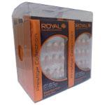 Royal Prestige Collection - 24 Glue on Nail Tips (6pcs) (NNAI252) Radiance Stiletto (ROYAL 161)