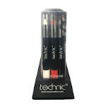 Technic Gothica Face Crayons (10pcs) (29544) (£1.45/each) B6