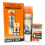 L'Oreal Men Expert Shave & Moisturise Daily Kit (0347)