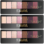 Eveline Twilight Eyeshadow Professional Palette (3pcs) (4330) (£1.25/each)