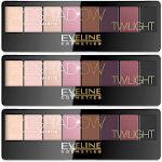 Eveline Twilight Eyeshadow Professional Palette (3pcs) (4330) (£1.00/each)