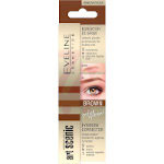 Eveline Art Scenic Brow Corrector 3in1 - Brown (3pcs) (£0.50/each) (3765)