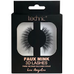 Technic Faux Mink 3D Lashes - Los Angeles (6pcs) (£1.39 / each) (29536) D4