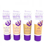 Rimmel Stay Matte Liquid Mousse Foundation (12pcs) (Assorted) (£1.00/each) R162