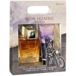 Mon Homme Gift Set (Mens 100ml EDT + Shower Gel) Omerta (7313)