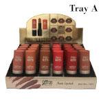 Saffron Pro-Matte Lipstick (24pcs) (Tray A) (4944) (£0.56/each) SAFFRON 97A