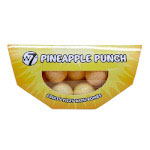 W7 Pineapple Punch Fruity Fizzy Bath Bombs (BATHBPP) (6067) A/50
